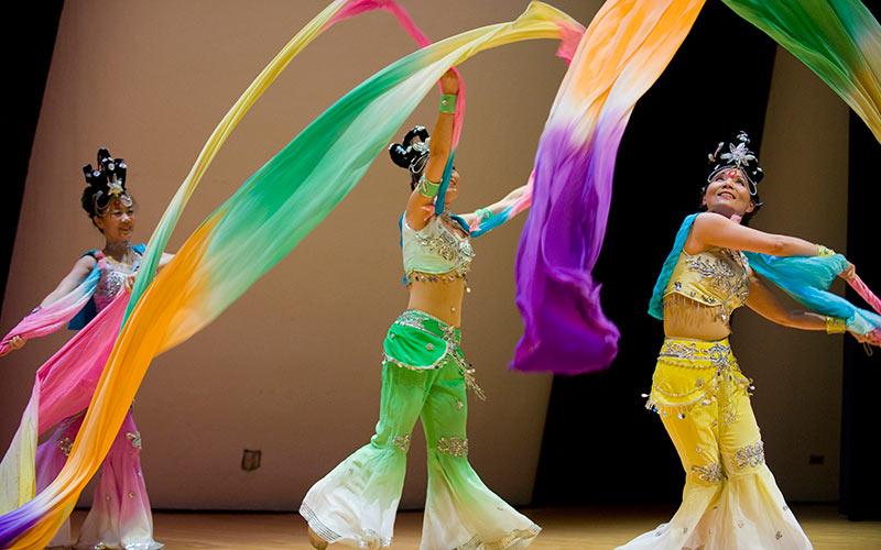 Asian dance performance